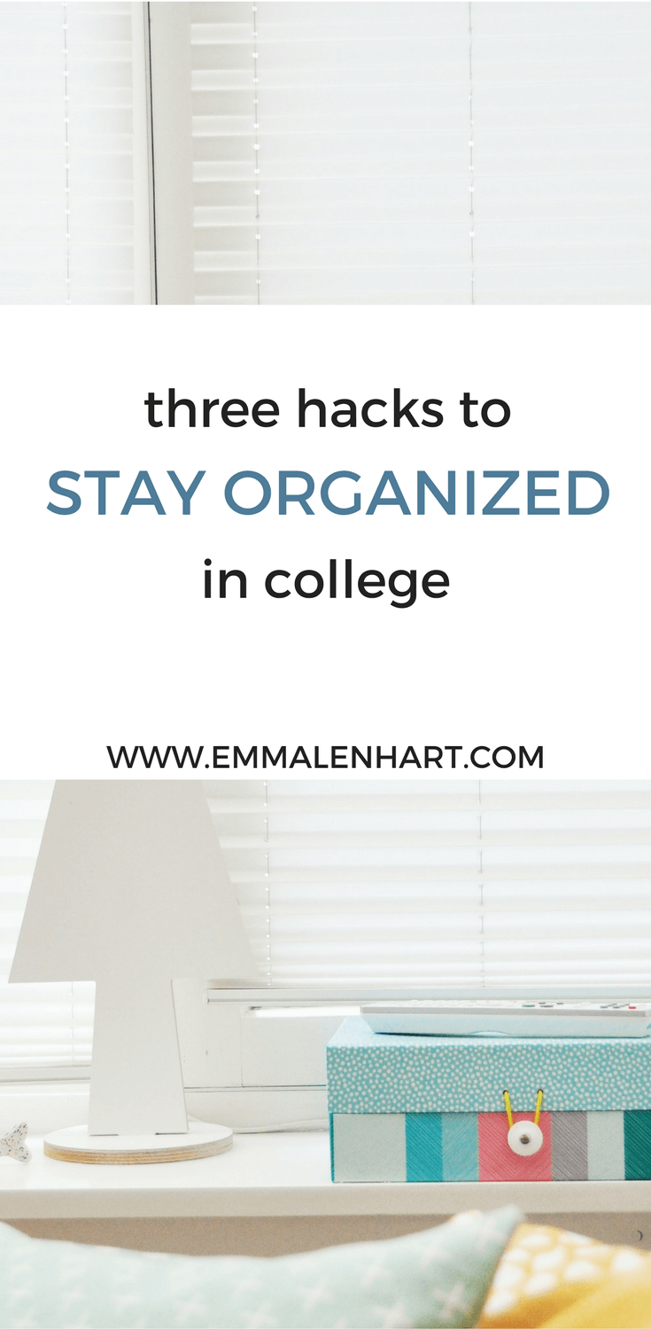 Stay Organized in College