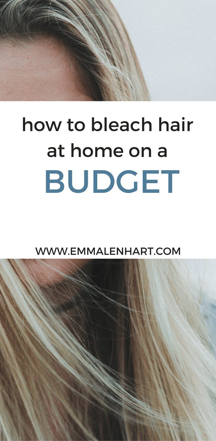 How to Bleach Hair at Home