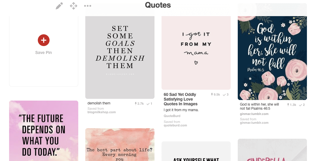 Get More Pinterest Followers Quote Board