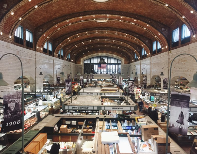 Things to do in Cleveland West Side Market Above