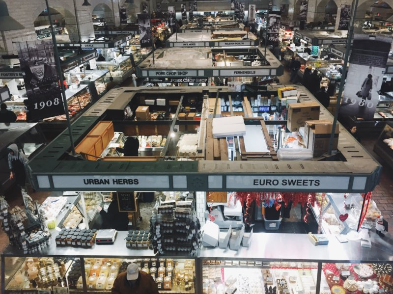 Things to do in Cleveland - West Side Market Vendors