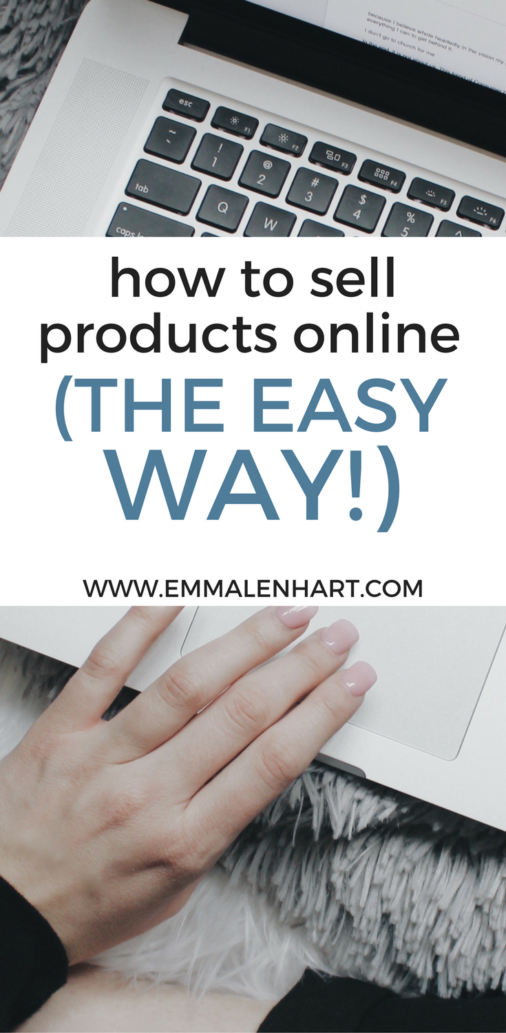 how to sell products online the easy no fuss way