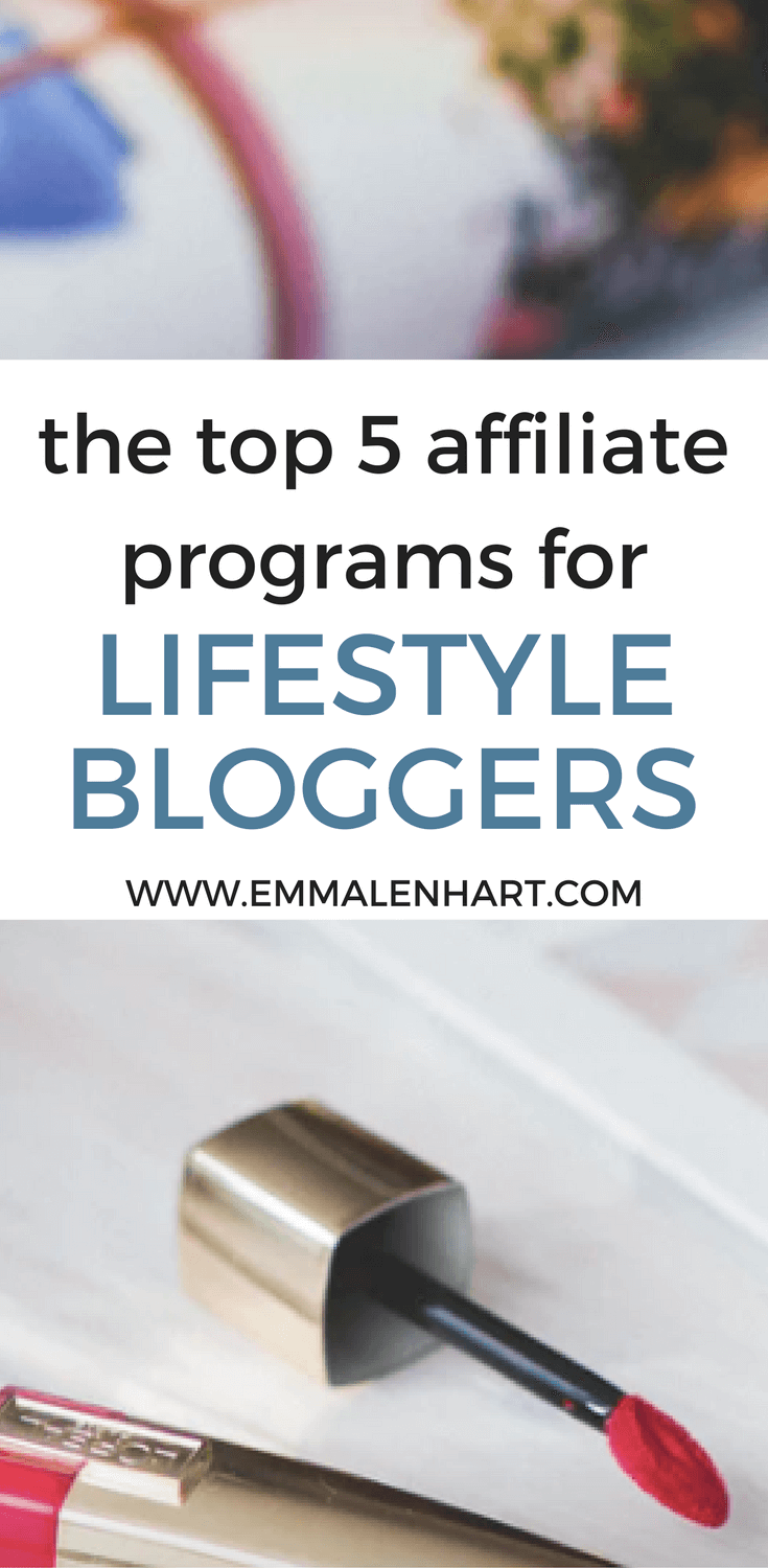 Affiliate Programs for Lifestyle Bloggers