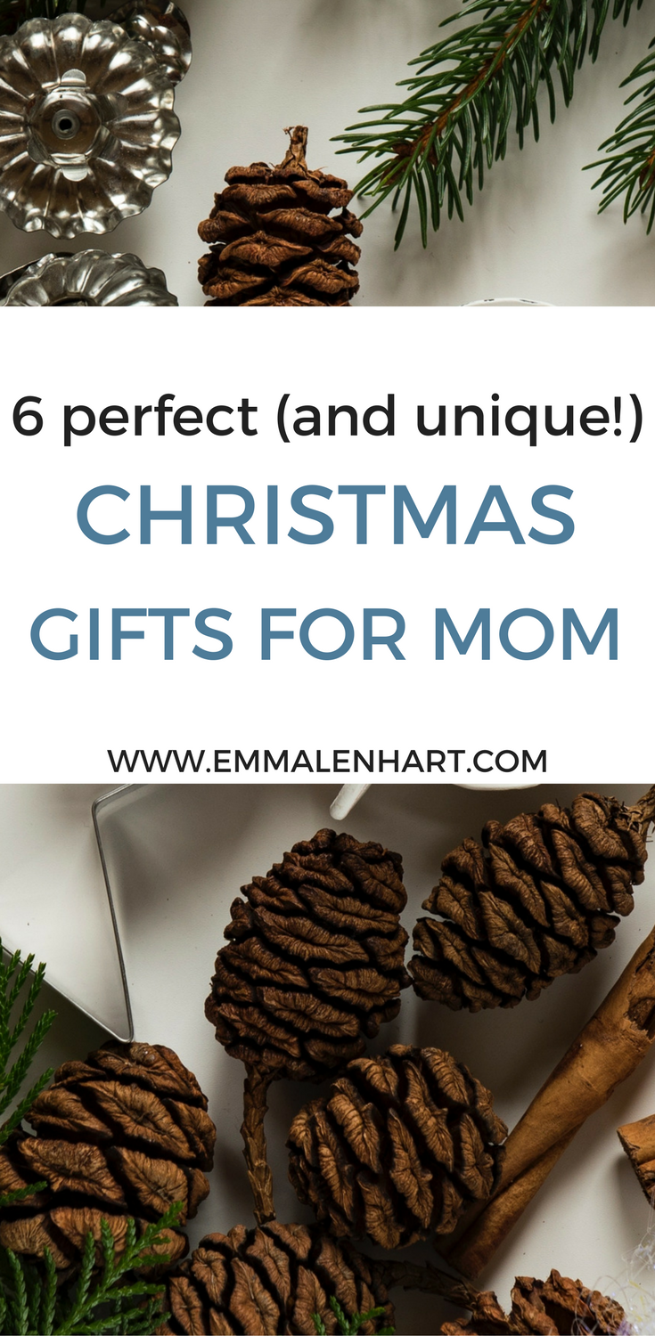 Worried about what to get your mom for Christmas this year? No worries! See Emma Lenhart's 6 picks for unique gifts for your mom this Christmas season.