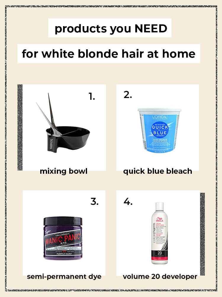 How to Bleach Hair at Home Safely and On a Budget